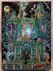 SPRINGBOK HALLOWEEN PUZZLE - THE HOUSE ON HAUNTED HILL - NICE - COMPLETE