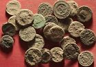 Lot of 25 Ancient Roman Uncleaned AE3 and AE4 Coins #32 Very Good Quality