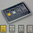 awesome 1 gram gold 1 gram silver 1 gram platinum 1 palladium bar certificate