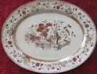 ANTIQUE POWELL BISHOP & STONIER PB&S HONFLEUR OVAL PLATTER RD7999 TRANSFERWARE