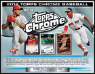 2014 Topps Chrome Baseball Hobby Box -2 Rookie Autos Box