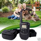 2013 LCD 100LV Level Electric SHOCK&VIBRA REMOTE PET DOG SAFE TRAINING COLLAR