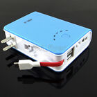 Blue 5V 9V 12 V 2A USB DC Battery Mobile Power Charger 18650 box For Phone LED