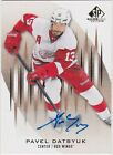 2013-14 SP Game Used Gold Autograph #71 Pavel Datsyuk Red Wings
