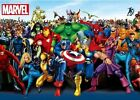 Tenyo Japan Jigsaw Puzzle R-1000-605 Marvel Heroes (1000 Pieces)