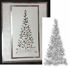 Christmas Tree Die Cut ELYSE diecut by MEMORY BOX pine tree for holiday cards