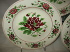 3 Piece Lot Persian Ware Plates Floral  8