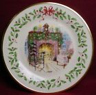 LENOX china HOLIDAY ANNUAL CHRISTMAS PLATE 1999 Winter's Warmth box/certificate