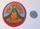 Vintage BOY SCOUT BSA - PATCH - Fish Creek 1968 FRONTIER