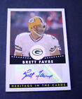2006 Topps Heritage In the Cards Autograph #HCABF Brett Favre B