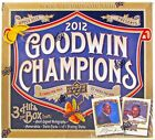 2012 UPPER DECK GOODWIN CHAMPIONS HOBBY BOX LOOK FOR ENTOMOLOGY BUG CARDS!