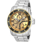 Invicta Men's Pro Diver Scuba Stainless Steel Calendar Bracelet Watch 15337
