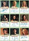 Spartacus Vengeance 2013 Ultimate Master Set with Autograph & Costume Cards