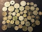 LARGE LOT OF OLD SILVER WORLDWIDE COINS NICE! FREE SHIPPING