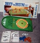 Hit N Run Baseball Pinball Game Ideal Toys 1976 Complete