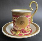Saucer w/ Gilded Lions  MINT