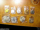 AUSTRIAN 1964 NINE COIN MINT SET WITH THE RARE 9 SHIELD 25 SHILLING ERROR COIN