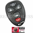 New Replacement Keyless Entry Car Remote Fob for 22733524 + Extra Battery