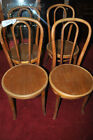 4 Antique Jacob & Joseph Kohn Bentwood Thonet Chairs