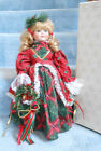Boxed Heirloom Treasure Porcelain Christmas Doll 17