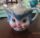 Vintage Lefton Miss Priss Cat Teapot