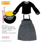 AZONE PureNeemo BlueBirds Song Pretty Holiday set Grey Black Momoko Blythe DAL