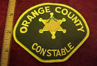 Orange County Constable  Patch Defunct Agency Now handled by Sheriff