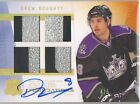 09-10 UD THE CUP Quad Foundations PATCH Auto Drew Doughty 4 5 LA KINGS
