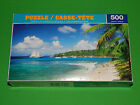 New 500 pc Jigsaw Puzzle Relax on the Beach Great Gift Challenging