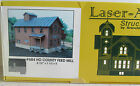 LASER ART KIT~COUNTY FEED MILL BUILDING KIT ~LASER CUT WOOD PARTS~ HO SCALE