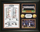 San Francisco Giants 2014 World Series Champs 24KT Gold Line Up Card Photo Mint