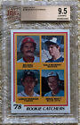 1978 TOPPS LANCE PARRISH DALE MURPHY RC BVG 9.5...CARDREGISTRY