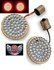 2 LED BULLET Style Turn Signals CUSTOM DYNAMICS for Harley GEN 200 R 1156 New