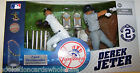 Derek Jeter NY Yankees McFarlane MLB Baseball Commemorative Figure set of 2