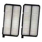 New 2 Piece Set Cabin Air Filter Assembly 99 04 Chevy Tracker SUV Aftermarket