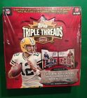 2012 Topps Triple Threads Football HOBBY Box Andrew Luck RC AUTO? Booklet? 1 1?