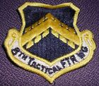 vintage 8TH TACTICAL FIGHTER WING PATCH military US AIR FORCE vietnam era USAF
