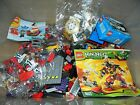 LEGO MIXED LOT 3.5 POUNDS INCLUDES NINJAGO, PIRATE AND CITY PIECES