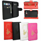 Phone Leather Wllet Style Case Cover For Samsung Galaxy Star Advance SM G350E