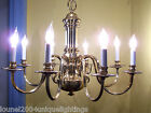 Large Traditional Polish Solid BRASS CHANDELIER
