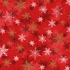 100 % cotton quilting fabric Woodland xmas  4430 24470 red1  red rooster bty