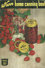 Kerr Home Canning Book Vintage 1944