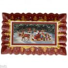 Boch TOY'S FANTASY Sleigh Ride Rectangular Cake Plate  #2226
