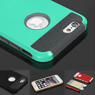 Hybrid Hard&Soft Shockproof Rugged Rubber Cover Case For Apple iPhone 6 4.7