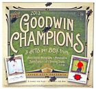 2013 UPPER DECK GOODWIN CHAMPIONS HOBBY BOX LOOK FOR BUG ENTOMOLOGY CARDS!