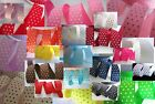 50 yards Roll Swiss Polka Dot Grosgrain 7 8 Ribbon R4 Pick Color FREE US SHIP