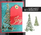 Christmas Tree Die Cut CHRISTMAS TREE 2 By DEES for Christmas Cards