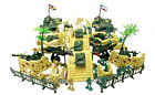 150+ Army Men Soldiers with tanks missiles, bridge, walls tents trucks jets more