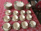 Vintage Fransecan Desert Rose By Wedgewood  67 PIECES MARKED STUNNING SET