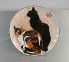 THEOPHILE STEINLEN  Two Cats Lithograph Plate 7.5